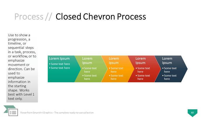 Graphics for chevron timeline graphics graphicsbuzz powerpoint smartart graphics closed chevron process template toneelgroepblik Images