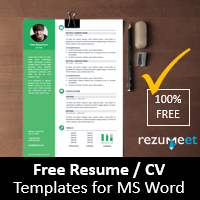 Rezumeet.com - Free resume templates for Word (DOCX)