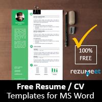 Rezumeet.com - Free resume templates for Word (DOCX)