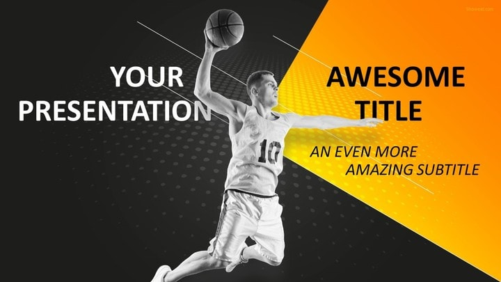 30 Sports - Mega Powerpoint Template
