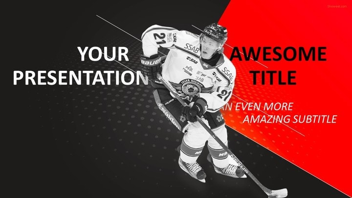 sports  mega powerpoint template, Templates