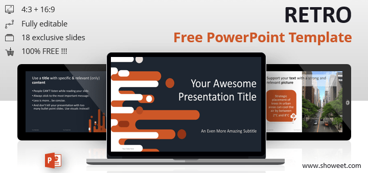 Retro Free Powerpoint Template