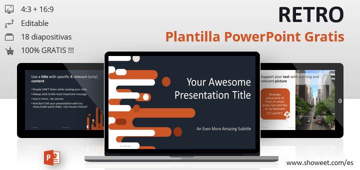 Retro - Plantilla para PowerPoint Gratis