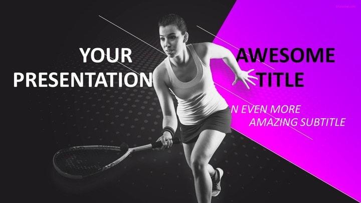30 sports mega powerpoint template sports squash powerpoint template toneelgroepblik Choice Image
