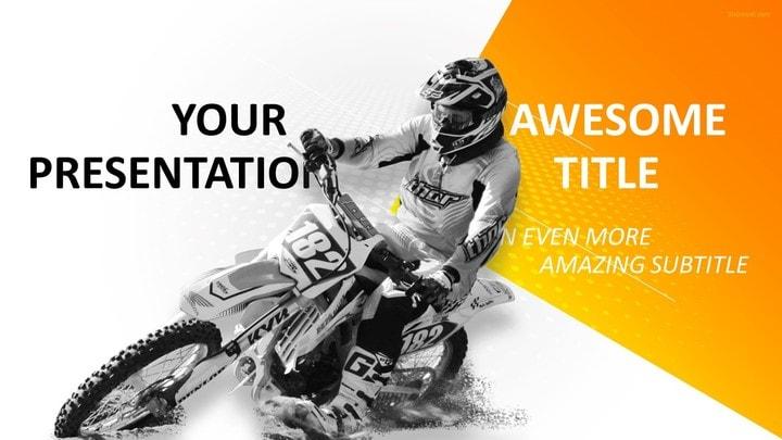 30 sports mega powerpoint template sports motocross powerpoint template toneelgroepblik Images