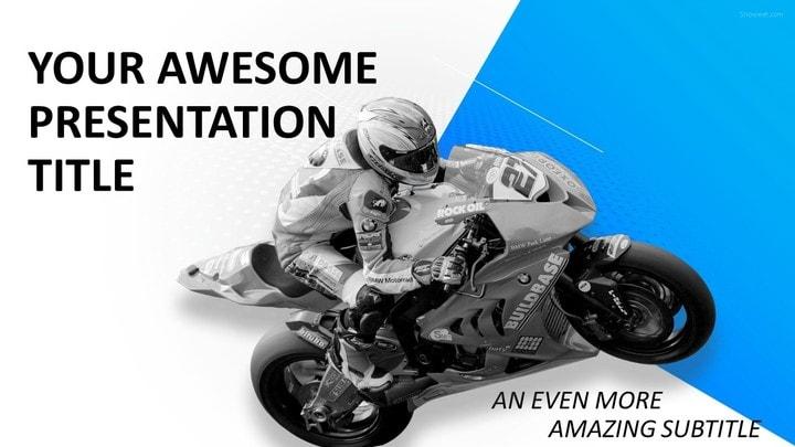 30 sports mega powerpoint template sports moto racing powerpoint template toneelgroepblik Gallery