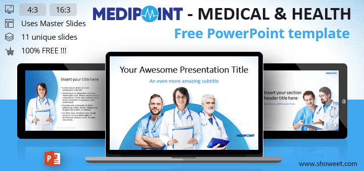 Medipoint medical health powerpoint template toneelgroepblik Images