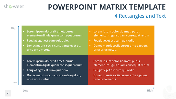 Matrix Templates For Powerpoint