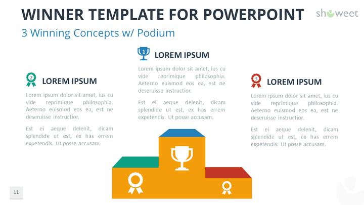 winner templates for powerpoint