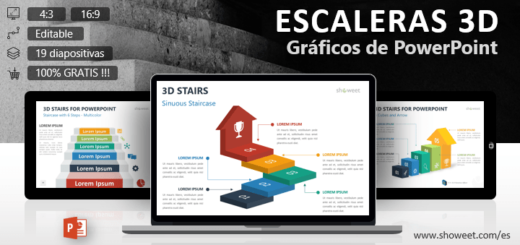 Plantillas powerpoint gratis y creativas showeet for Grafica 3d gratis