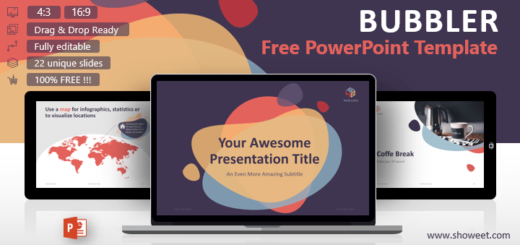 bubbler modern powerpoint template