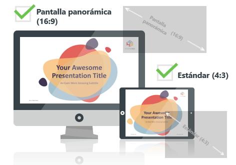Bubbler - Plantilla PowerPoint - Pantalla estándar (4:3) y pantalla panorámica (16:9)