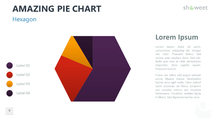 Amazing Pie Charts 2 For Powerpoint