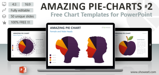 Creative and free powerpoint templates showeet amazing pie charts 2 for powerpoint toneelgroepblik Choice Image