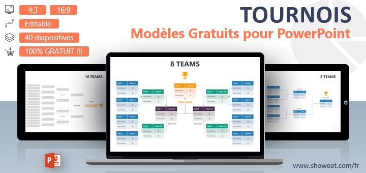 Modèles PowerPoint Gratuits pour Tournois