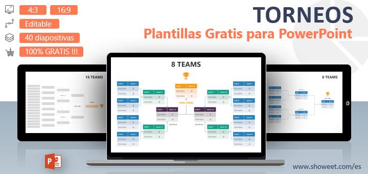 Plantillas de PowerPoint gratuitas para torneos y competiciones