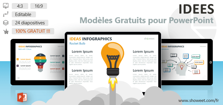 Idees Modeles Infographiques Pour Powerpoint