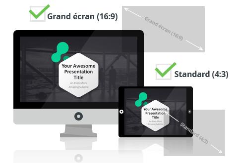 Dark Pro – Modèle PowerPoint aux formats Grand écran et Standard