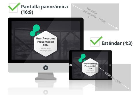 Dark Pro - Plantilla PowerPoint - Pantalla estándar (4:3) y pantalla panorámica (16:9)