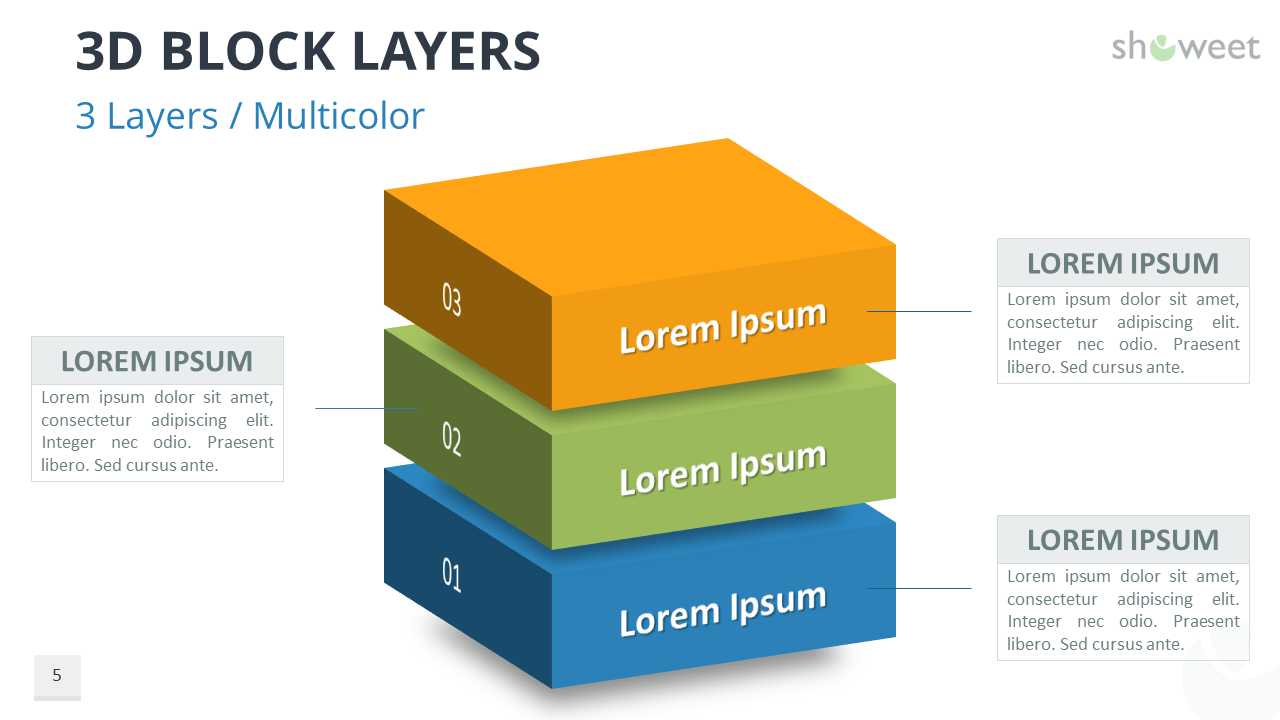 3D Block Layers for PowerPoint - Showeet.com [ 720 x 1280 Pixel ]