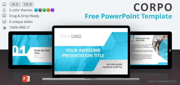 Corpo - Free Business PowerPoint Template