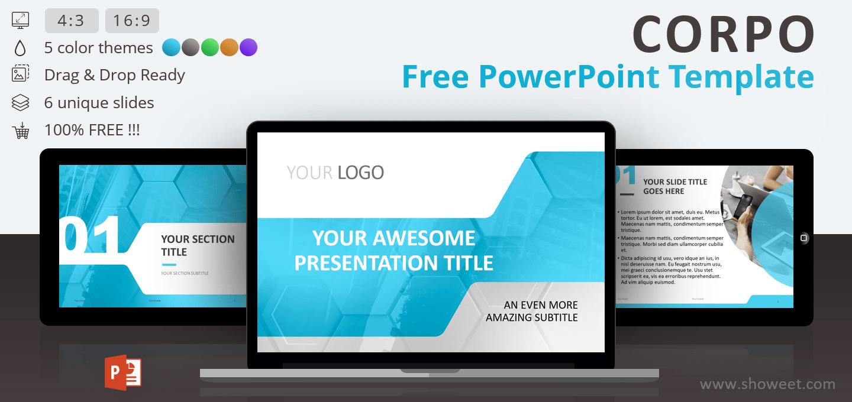 corpo  u2013 business powerpoint template