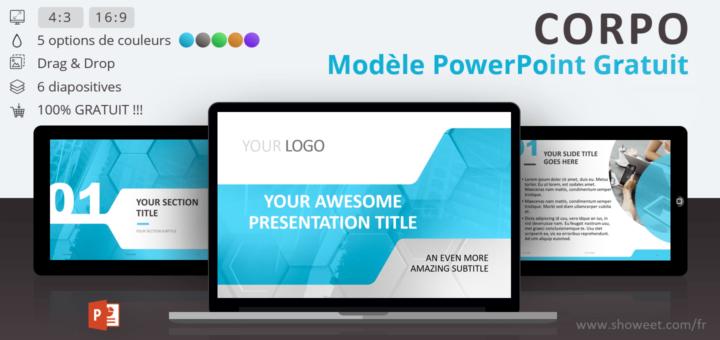 corpo - mod u00e8le powerpoint professionnel