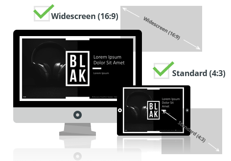 BLAK Multipurpose PowerPoint Template - Optimized for Widescreen and Standard Layouts