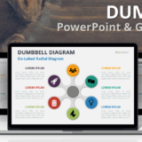 Free Dumbbell Diagrams for PowerPoint and Google Slides