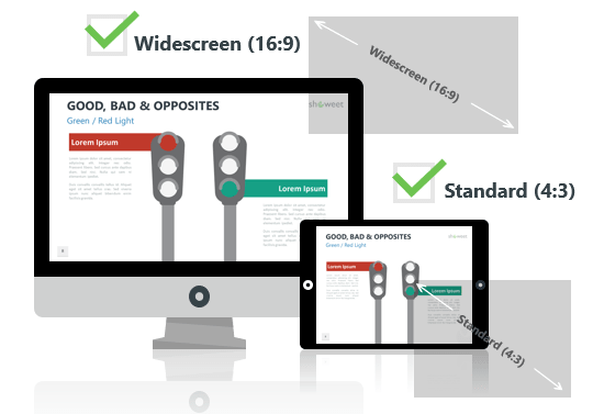 Good, Bad and Opposites for PowerPoint - Optimized for Widescreen and Standard Layouts