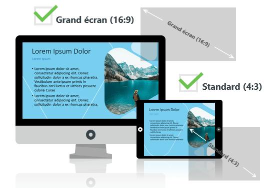 LUNA -  - Modèle PowerPoint aux formats Grand écran et Standard