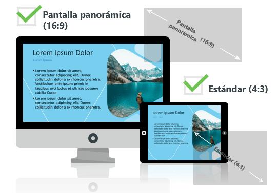 LUNA - Plantilla PowerPoint - Pantalla estándar (4:3) y pantalla panorámica (16:9)