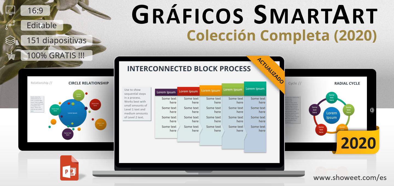 Gráficos PowerPoint SmartArt – Colección Completa y Actualizada (2020)