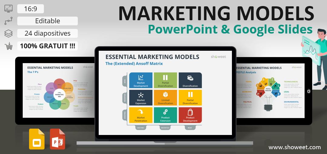 Essential Marketing Models for PowerPoint and Google Slides