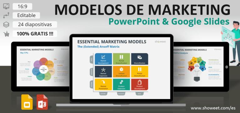 Los Principales Modelos de Marketing para PowerPoint y Google Slides
