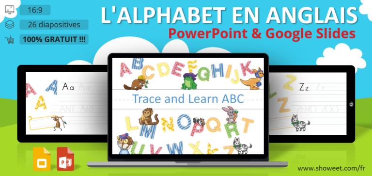 L'alphabet en Anglais - Fiches PowerPoint et Google Slides